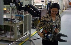 Photo of zeroG and a drill